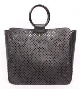 Laser Cut Style Women Designer Handbag with Detachable Bag